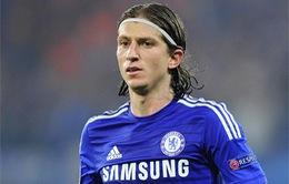 Chính thức: Rời Chelsea, Filipe Luis trở lại Atletico
