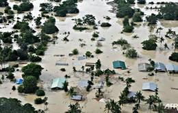 Lũ lụt hoành hành tại một số quốc qua châu Á
