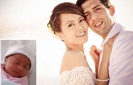 Lương Vịnh Kỳ hào hứng khoe ảnh con gái mới sinh
