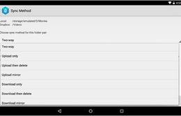 Tự động sao lưu và đồng bộ dữ liệu cho thiết bị Android
