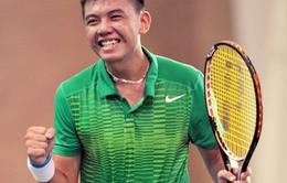 Lý Hoàng Nam trở lại Top 50 tay vợt trẻ thế giới
