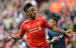 Chuyển nhượng 4/4: Liverpool kiên địnhvớigiá bán Sterling