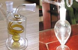 Tràn lan dụng cụ hút ma túy  đá tại các cửa hàng dụng cụ y khoa