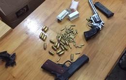 TP.HCM: Triệt phá đường dây buôn bán ma túy, súng quân dụng