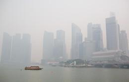 Khói mù bao phủ nghiêm trọng Singapore