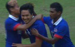 Olympic Malaysia 2-0 Olympic Macau: Chủ nhà kém duyên
