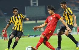 """U23 Việt Nam """"ngược dòng"""" vượt qua U23 Malaysia"""