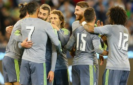 "ICC 2015: Real Madrid ""thảm sát"" Man City"