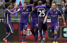 ĐHTB vòng 37 Ngoại hạng Anh: Man City thắng thế