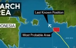 Máy bay AirAsia gặp nạn: Xác định được mảnh vỡ thứ 5