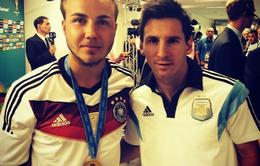 """Messi nước Đức tự nhận thua kém """"hàng xịn"""""""