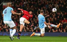 Fellaini: Man Utd cần đánh bại Man City bằng mọi giá