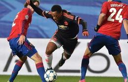 """ĐHTB Champions League lượt 3: """"Gã khờ"""" Martial góp mặt"""