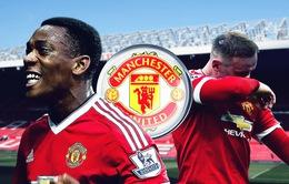 Báo động hàng công của Man Utd: Rooney và Martial cùng vắng mặt