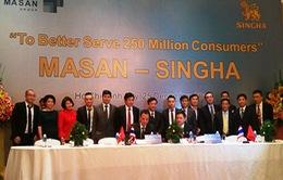 Masan và Singha Asia ký kết thỏa thuận đối tác chiến lược