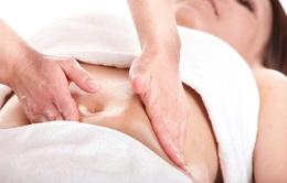 Massage giảm nhăn xệ vòng 2 cho phụ nữ sau sinh