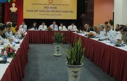 Hội nghị lần thứ nhất Đoàn Chủ tịch Ủy ban Trung ương MTTQ Việt Nam khóa VIII