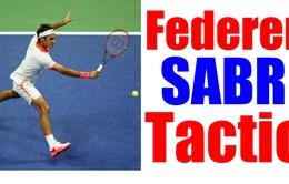 """Federer và câu chuyện về """"vũ khí bí mật"""" mang tên SABR"""