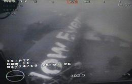 Đứt dây nối, thân máy bay QZ8501 rơi trở lại đáy biển