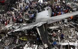 Điều tra nguyên nhân vụ rơi máy bay tại Indonesia