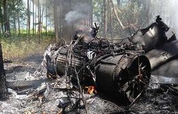 Mỹ: Tiêm kích F-16 đâm một chiếc máy bay cỡ nhỏ trên không