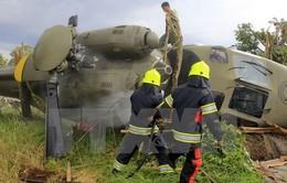 Rơi trực thăng ở Serbia, 7 người thiệt mạng