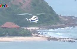 Diễn tập tìm kiếm cứu nạn hàng không 2015