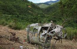 Lào: Khó tiếp cận máy bay gặp nạn do thời tiết xấu