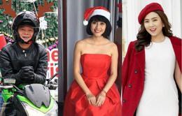 Các MC, BTV VTV háo hức chụp ảnh đón Giáng sinh