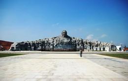 Gấp rút hoàn thành công trình Tượng đài Mẹ Việt Nam Anh hùng