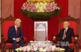 Tổng Bí thư Nguyễn Phú Trọng tiếp cựu Tổng thống Bill Clinton