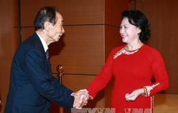 Phó Chủ tịch QH Nguyễn Thị Kim Ngân hội đàm với Phó Chủ tịch Thượng viện Nhật Bản