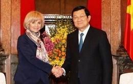 Chủ tịch nước tiếp Chủ tịch Ủy ban Đối ngoại Quốc hội Pháp