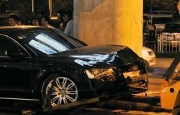 Vụ tai nạn ở Tân Sơn Nhất: Lái xe Audi khai đạp nhầm chân ga