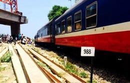 Quảng Ngãi: Tàu hỏa SE4 mất lái, trật khỏi đường ray