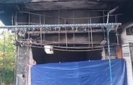 Thái Bình: Cháy cửa hàng, thiêu rụi 30 chiếc xe máy