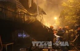 Cà Mau: Hỏa hoạn thiêu rụi hoàn toàn 4 căn nhà
