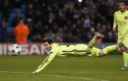 Messi chơi tệ vẫn được vinh danh, bộ ba AS Monaco chói sáng