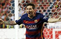 """Messi hoá """"thần tài"""", Barcelona độc chiếm ngôi đầu La Liga 2015/16"""