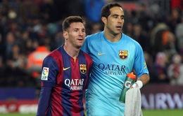 """Thủ môn ĐT Chile: """"Argentina không chỉ có mình Messi"""""""