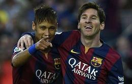 Messi và Neymar không du đấu cùng Barcelona