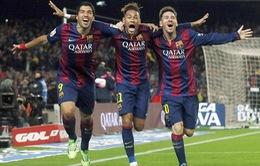 Tam tấu Messi – Suarez - Neymar đáng xem nhất lịch sử Barcelona