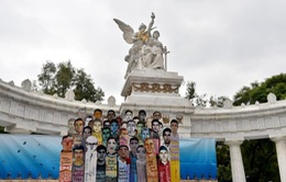 Mexico: Biểu tình phản đối vụ 43 sinh viên bị mất tích