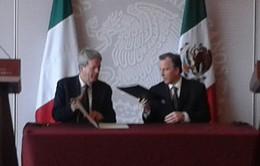 Mexico - Italy tăng cường quan hệ đối tác chiến lược