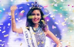Người đẹp Lan Khuê đăng quang Hoa khôi áo dài Việt Nam 2014
