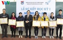 19 học sinh chuyên ĐHKHTN tham dự Olympic quốc tế năm 2015