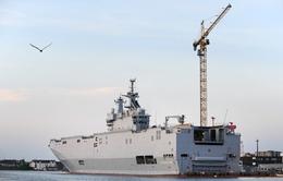 Pháp ra điều kiện chuyển giao tàu chiến Mistral cho Nga