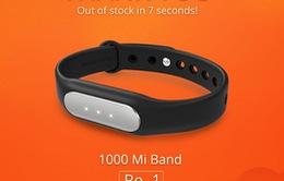 Xiaomi bán hết 1.000 chiếc Mi Band chỉ trong... 7 giây