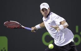 """Miami Open 2015: """"Ngựa ô"""" John Isner tiếp tục gây bất ngờ"""