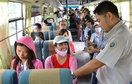 Đồng Nai miễn phí vé xe buýt cho thí sinh dự thi THPT Quốc Gia 2015